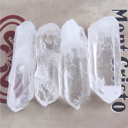 10g to 100g Tibet Natural Clear Crystal White Quartz Cluster Points pillar column Terminated Wand Specimen Healing Reiki mineral