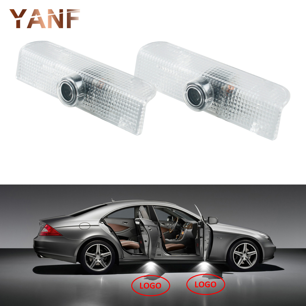 New Arrival 2 x LED Car Door Courtesy Laser Projector Logo Ghost Shadow Light for Nissan Altima Armada Maxima Quest Titan Teana