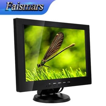 1280*800 Resolution Plastic Case Monitor VGA USB Touchscreen Monitor IPS LCD 12 Inch Touch Screen Monitor