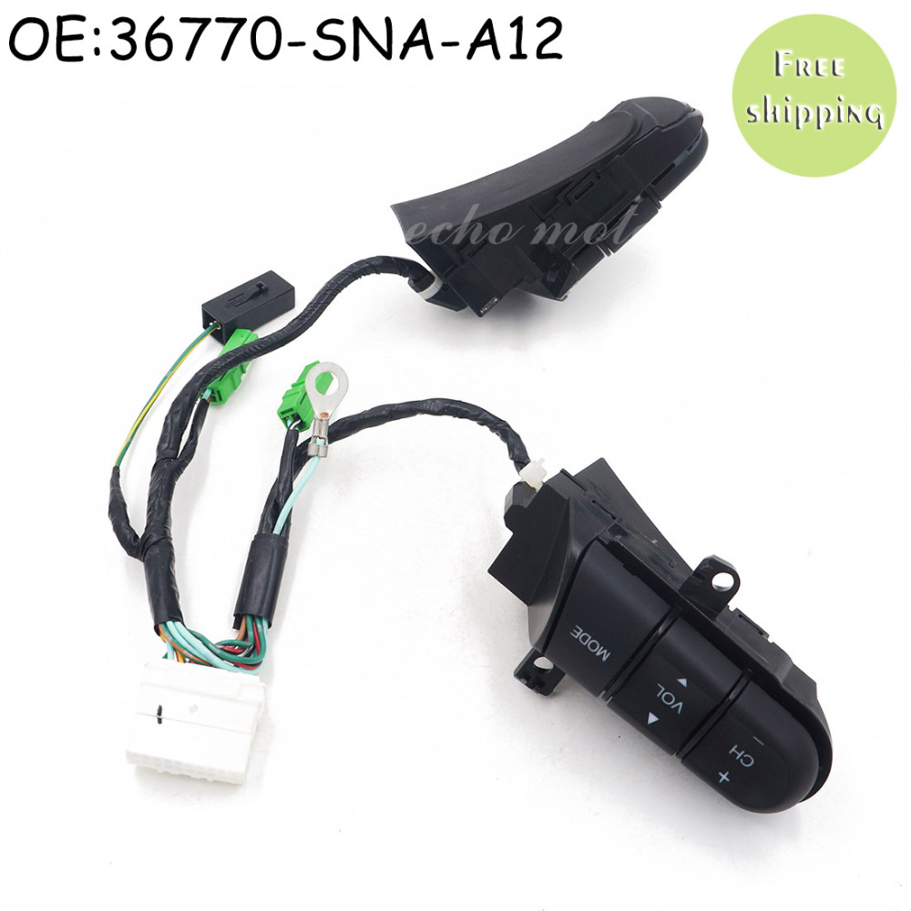 A12 Service Honda Civic Car Maintenance Console Cover Replacement 2001 Ford Windstar Fuel Filter Location New 36770 Sna Auto Cruise Audio Remote Control Switch For 2006 Rhaliexpress