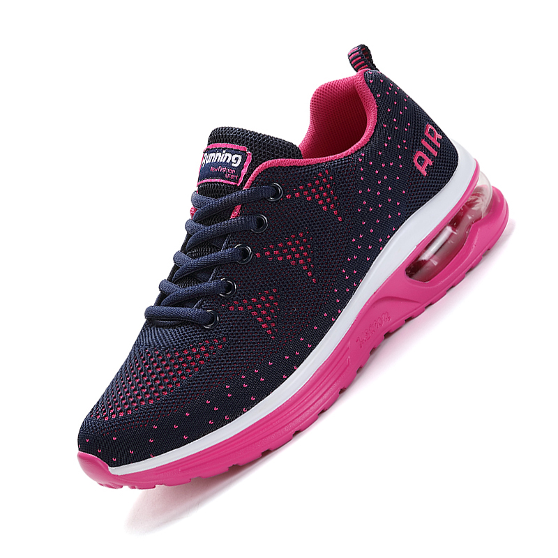 New Sport Running Shoes Autumn Sneakers for Women Cushioning Breathable Gymnastic Shoes Woman Outdoor Plum Woman Athletic Shoe xiang guan breathable leather athletic sneakers man woman trainer sport shoe height increasing running shoes for women 3377