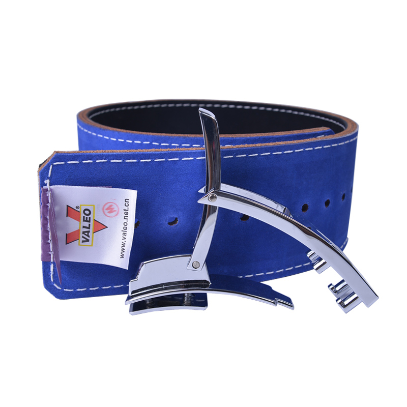Four-layer Cowhide Waistband Double Side And Double Color Squat Belt Thickening