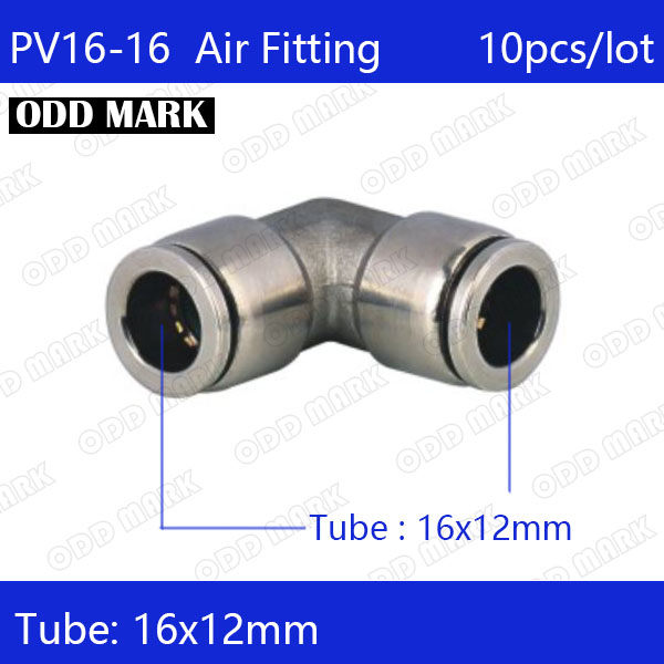 Free shipping 10pcs/lot 16mm PV16-16,304 Stainless Steel Union Elbow Connector цена