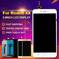 2017 New Arrival For Xiaomi Redmi 4X LCD Display Touch Screen With Frame Digitizer 5 0inch