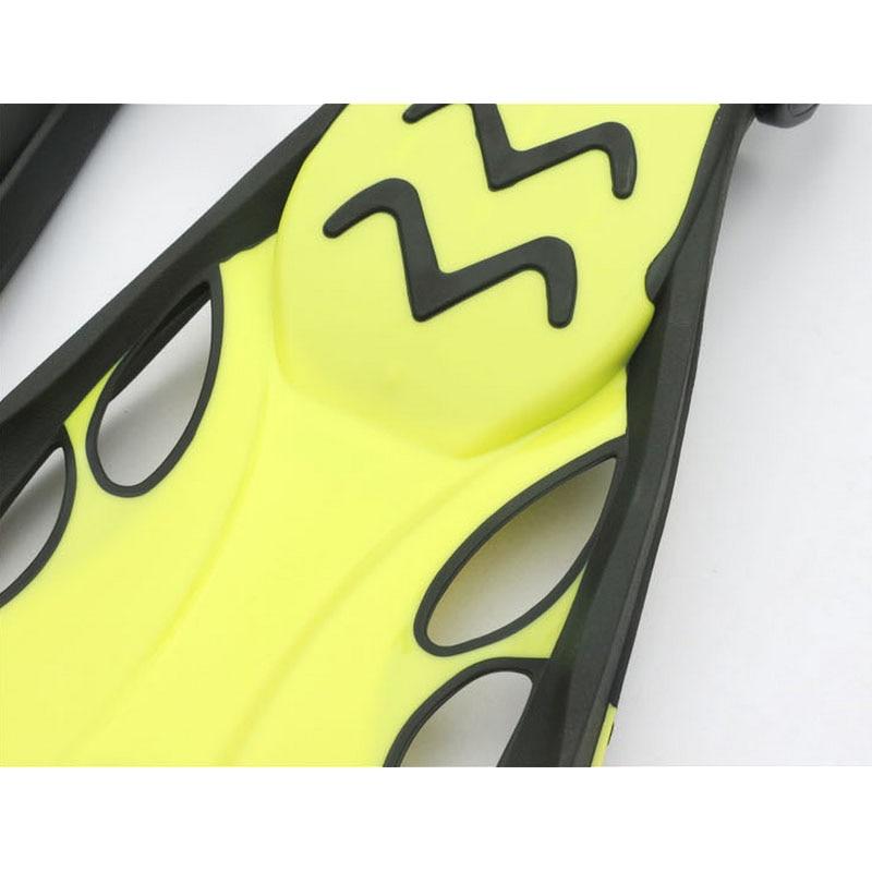 Professionnel Palmes De Plongée sous-marine adulte Réglable chaussures De Natation En Silicone longue Submersible Plongée Pied monofin Palmes De Plongée - 6