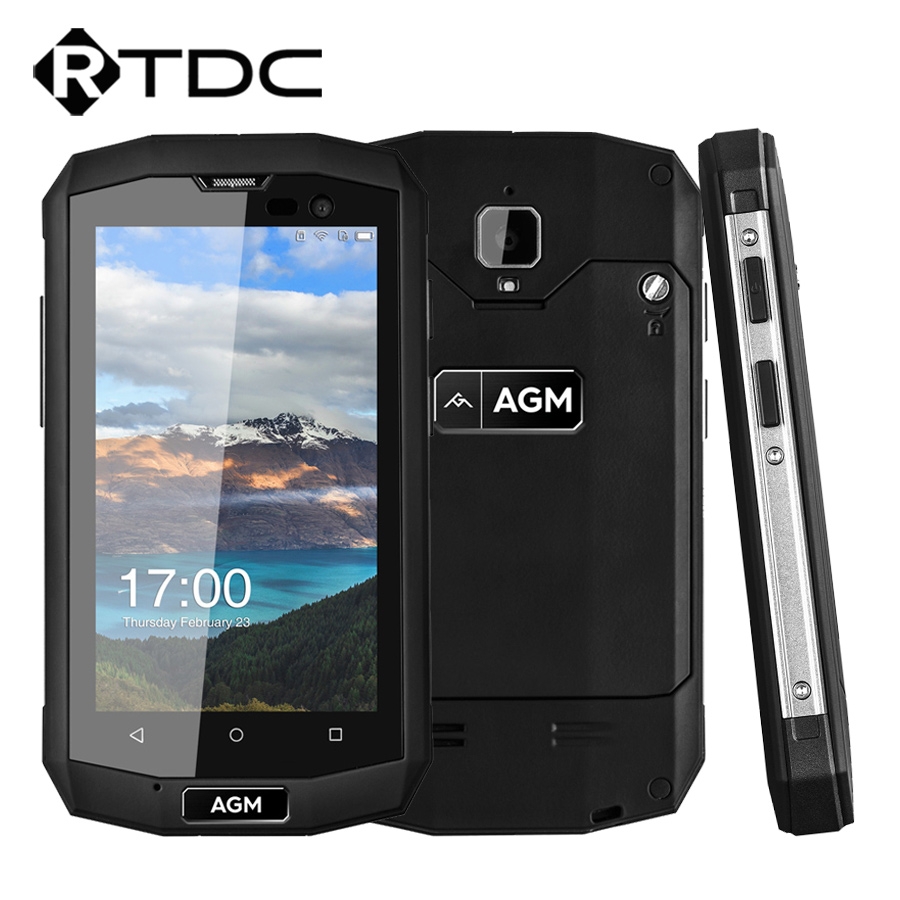 Original AGM A8 Mini IP68 Waterproof Mobile Phone 4 0'' 1GB