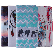 Fold Cases For Samsung S5/S5 Mini Wallet Card Slot Elephant Coque For G9006V/G800 Case Cover Capa Paras With Stand Function