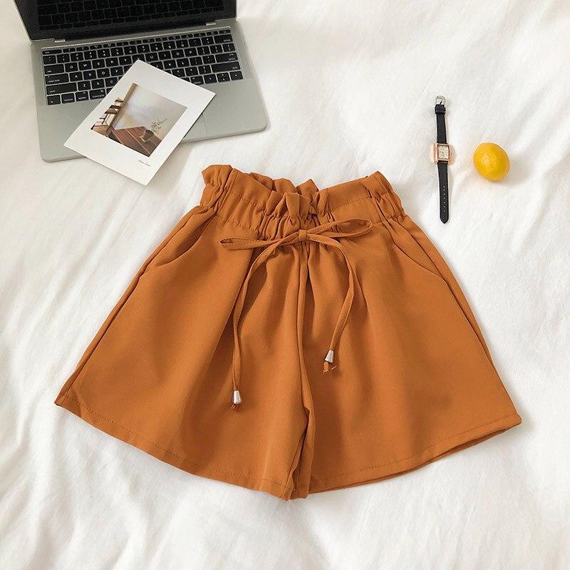 Solid color kawai shorts8