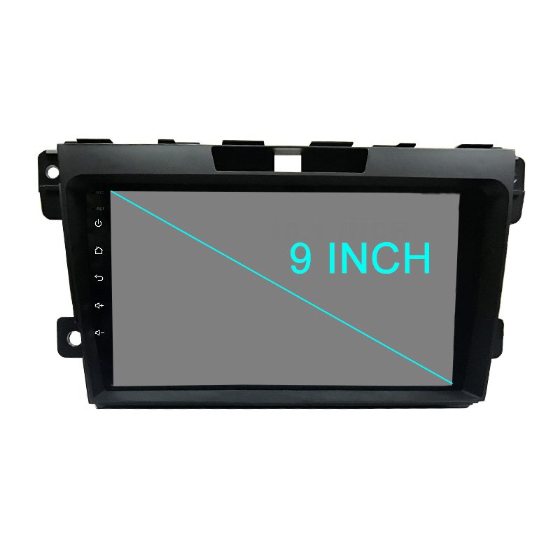Funrover 2 Din 9 Android CAR DVD Player For Mazda CX7 CX 7 CX-7 2008-2015 with GPS Navigation RDS FM Map Canbus Head unit wifi