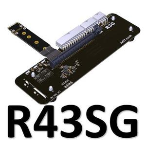 Image 4 - Support pour carte graphique externe M.2 pour NVMe, avec câble de Riser 25 cm50 cm 32gbs, support pour carte graphique externe avec câble PCIe3.0 x4 pour ITX STX NUC VEGA64 GTX1080ti