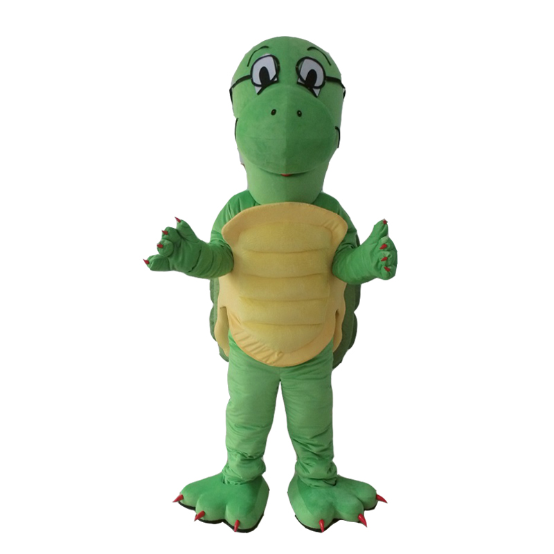 Green Turtle Costume Cosplay Outfits Adult Women Men Cartoon Sea Turtle Mascot costume For Carnival Festival Commercial Activity