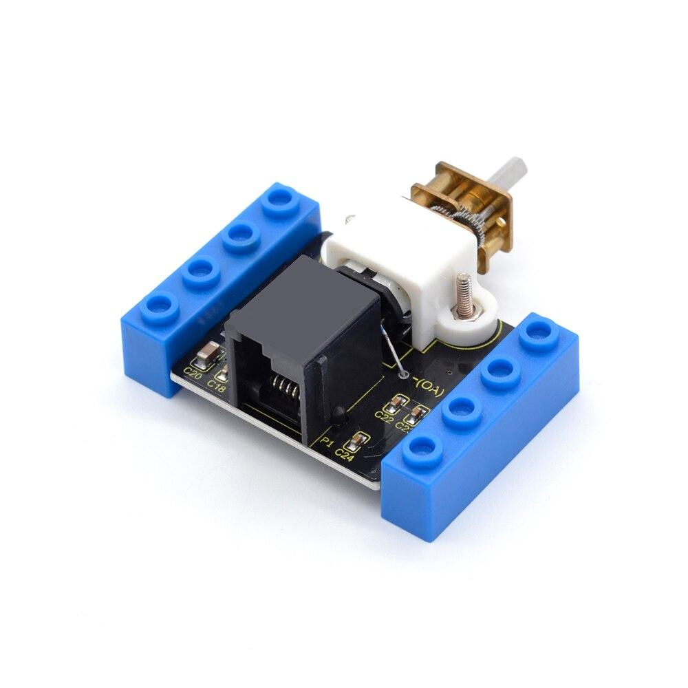 Kidsbits блоки кодирования N20 моторный модуль для Arduino пара EDU (черный и экологически чистый)-in Доски для показов from Компьютер и офис on AliExpress - 11.11_Double 11_Singles' Day