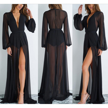 Summer Beach Wear Tunics For Beach Bathing Suit Cover Ups Swimwear Cover Up Women 2019 Sexy Mesh Floor Length Suits Dress Maios