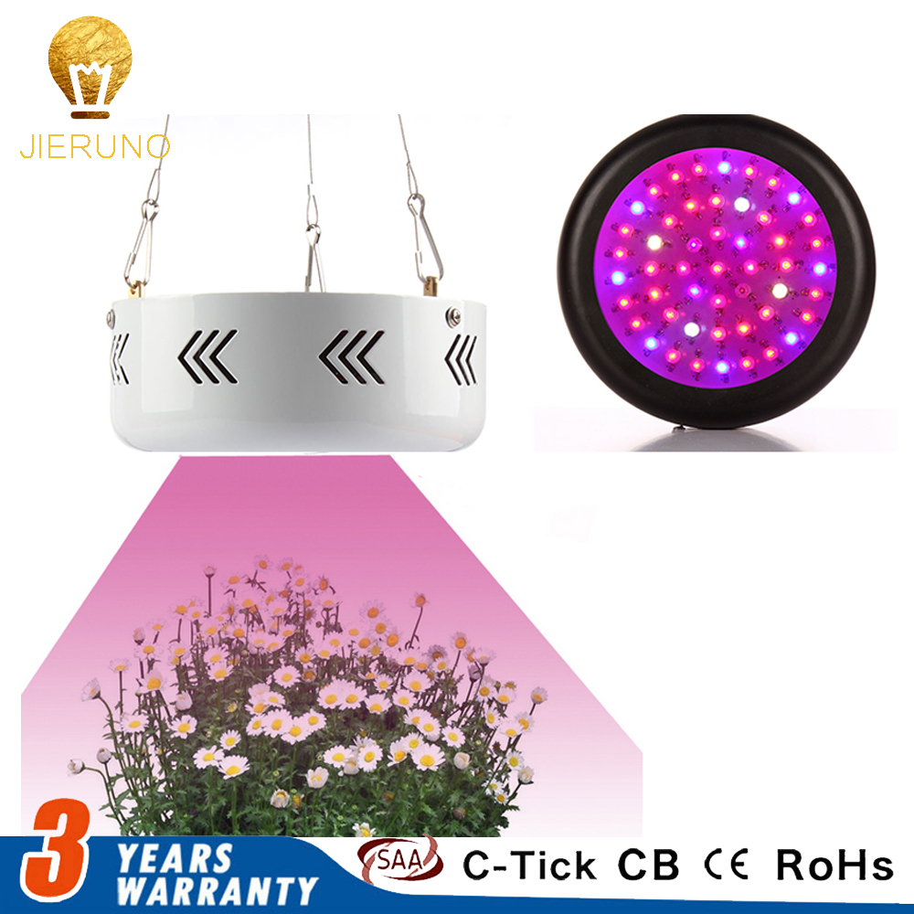 150W UFO LED Grow Light Full Spectrum AC85-265V Black&White Shell Plant Lamps for Indoor Grow Tent Plants Growth and Flower AE best full spectrum 300w led cultivate light for hydroponics greenhouse grow tent led lamp suitable for all plant growth 85v 265v