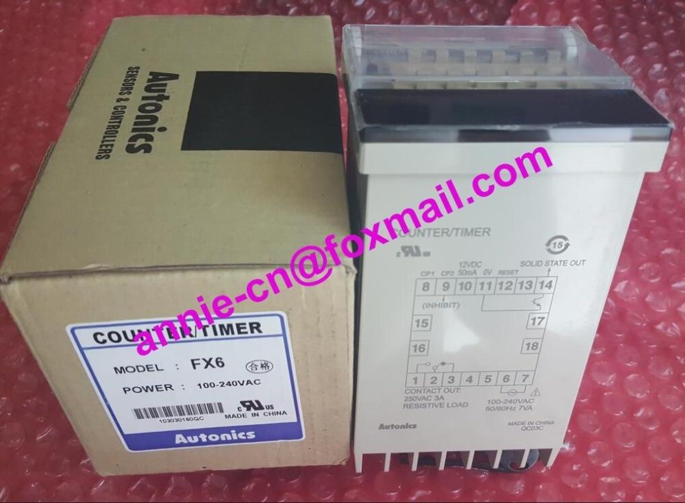 все цены на  FX6  New and original  AUTONICS Counter AC100-240V  онлайн