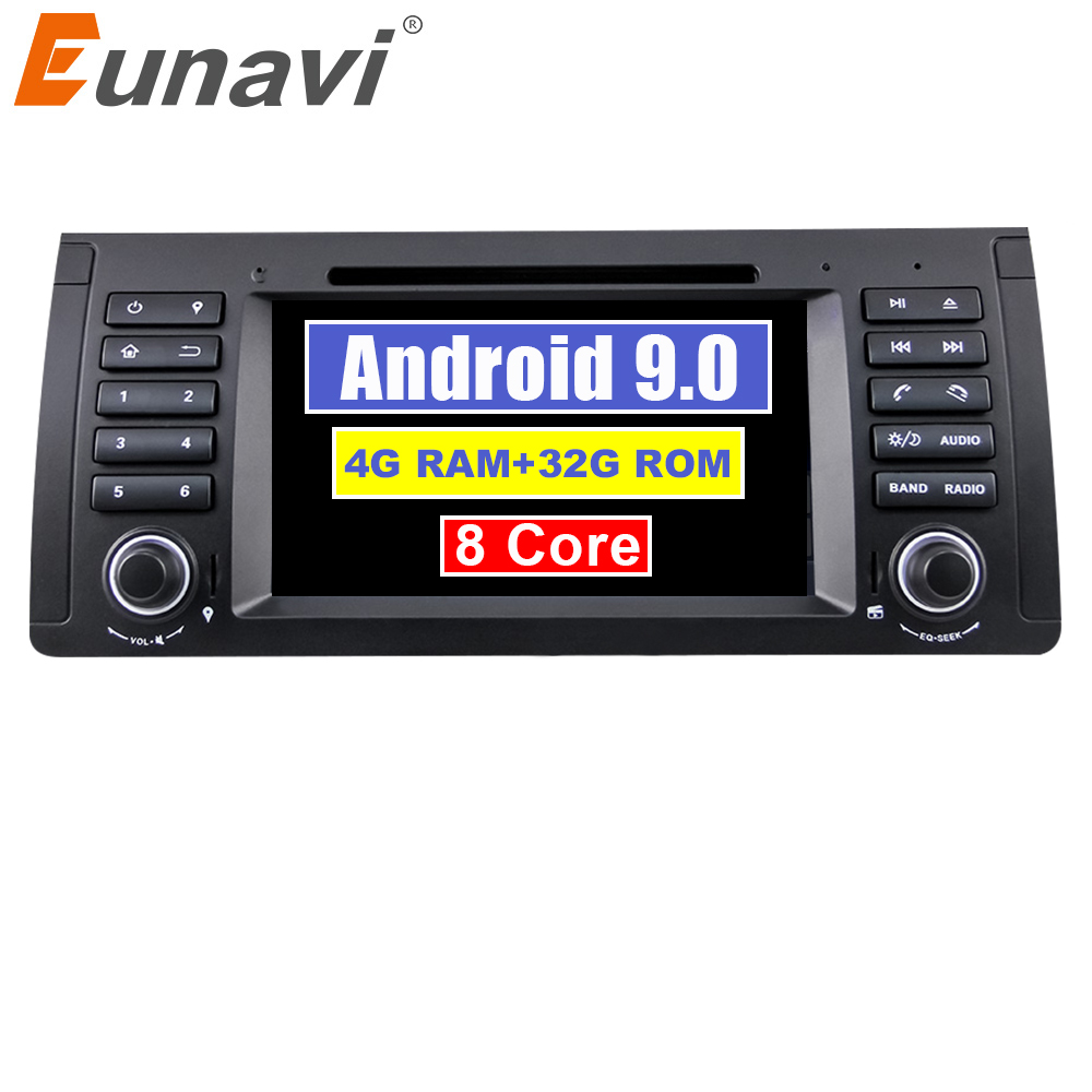 Eunavi 1 din Octa 8 Core 7 Android 9.0 PC 1Din Car DVD Player GPS Navi Radio Stereo For BMW E53 E39 X5 Support TV 4G RAM WiFiEunavi 1 din Octa 8 Core 7 Android 9.0 PC 1Din Car DVD Player GPS Navi Radio Stereo For BMW E53 E39 X5 Support TV 4G RAM WiFi