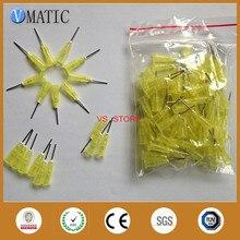 Высокое качество 100 шт./пакет 0.5 »20 Г точность клей пластиковые тупой раздачи клей игла/тупой наконечник 100 шт./пакет