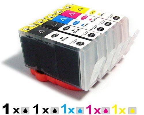 5 x ink cartridge inkjet print for HP862 HP 178 862 HP178 HP862XL for HP PRINTER