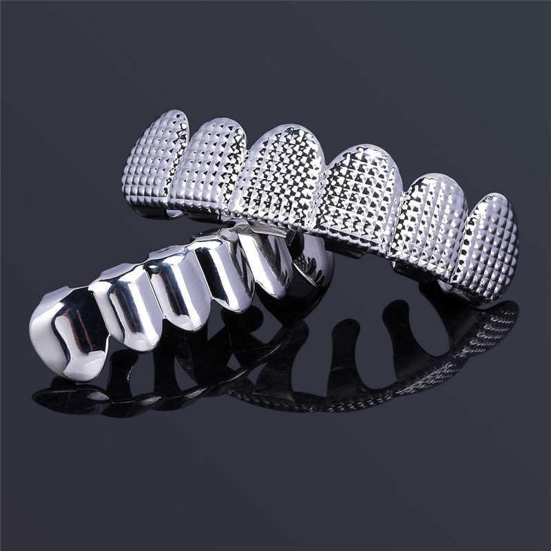 Мужской набор в стиле хип-хоп BOAKO, набор из топа и зубов