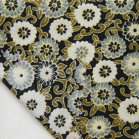 Pastoral 100 Cotton Fabric Vintage Flowers DIY Handmade Home Textile For Patchwork Cloth Bedding Bag Curtain