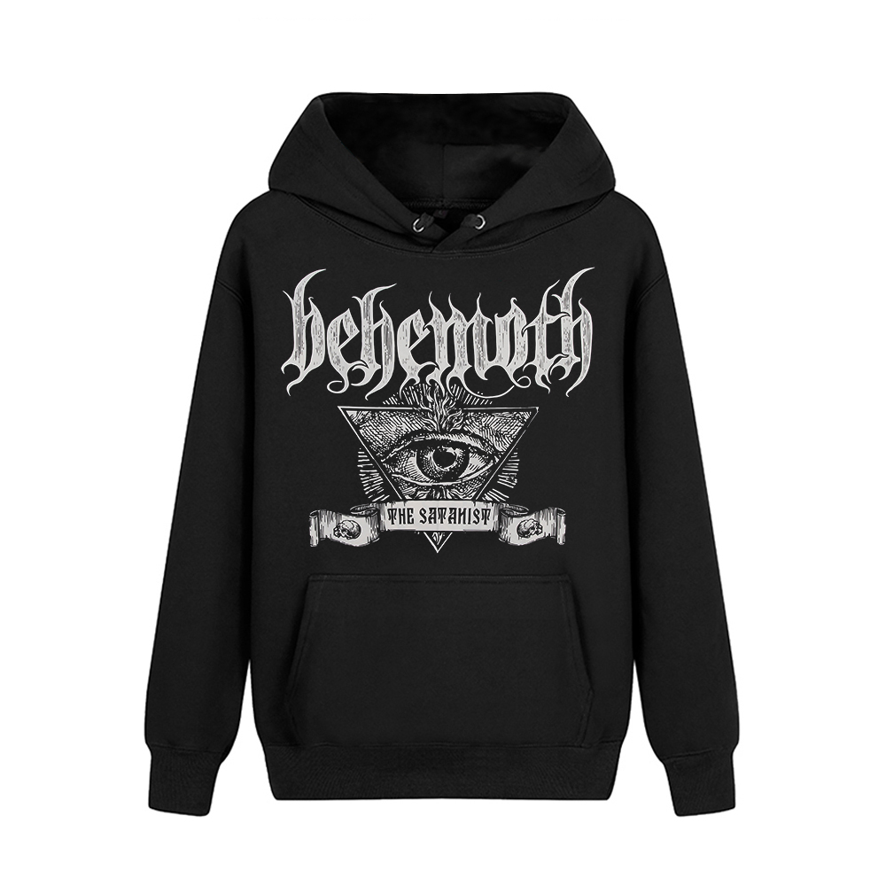 Bloodhoof behemoth band Death Metal Black Metal Progressive Metal Black Hoodie Asian Size