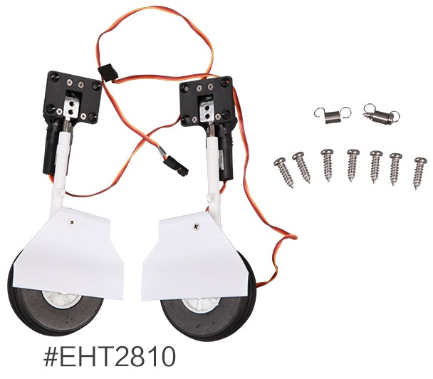Main Landing Gear for FMS 1100mm T 28 Scale RC Model EHT28