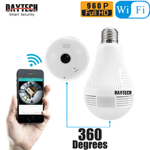 Daytech Home Security Surveillance Fish Eye Lens IP Camera WiFi Baby Monitor Wireless Two Way Voice Panoramic Camera