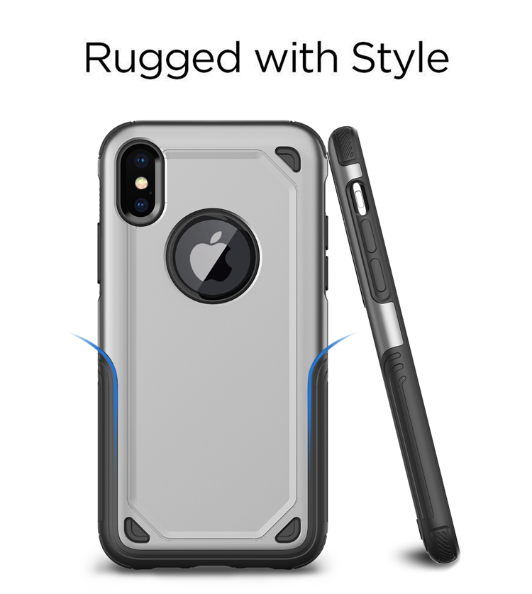 83f1ca7cb19d Hybird Armor Designer Cell Phone Cases For Iphone X XS Max XR 8 7 6 6S Plus