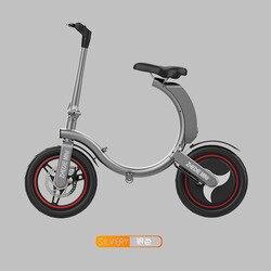 2019 Hoge Kwaliteit Opvouwbare Elektrische Scooter Twee Wielen Elektrische Fiets 400 W 14 Inch