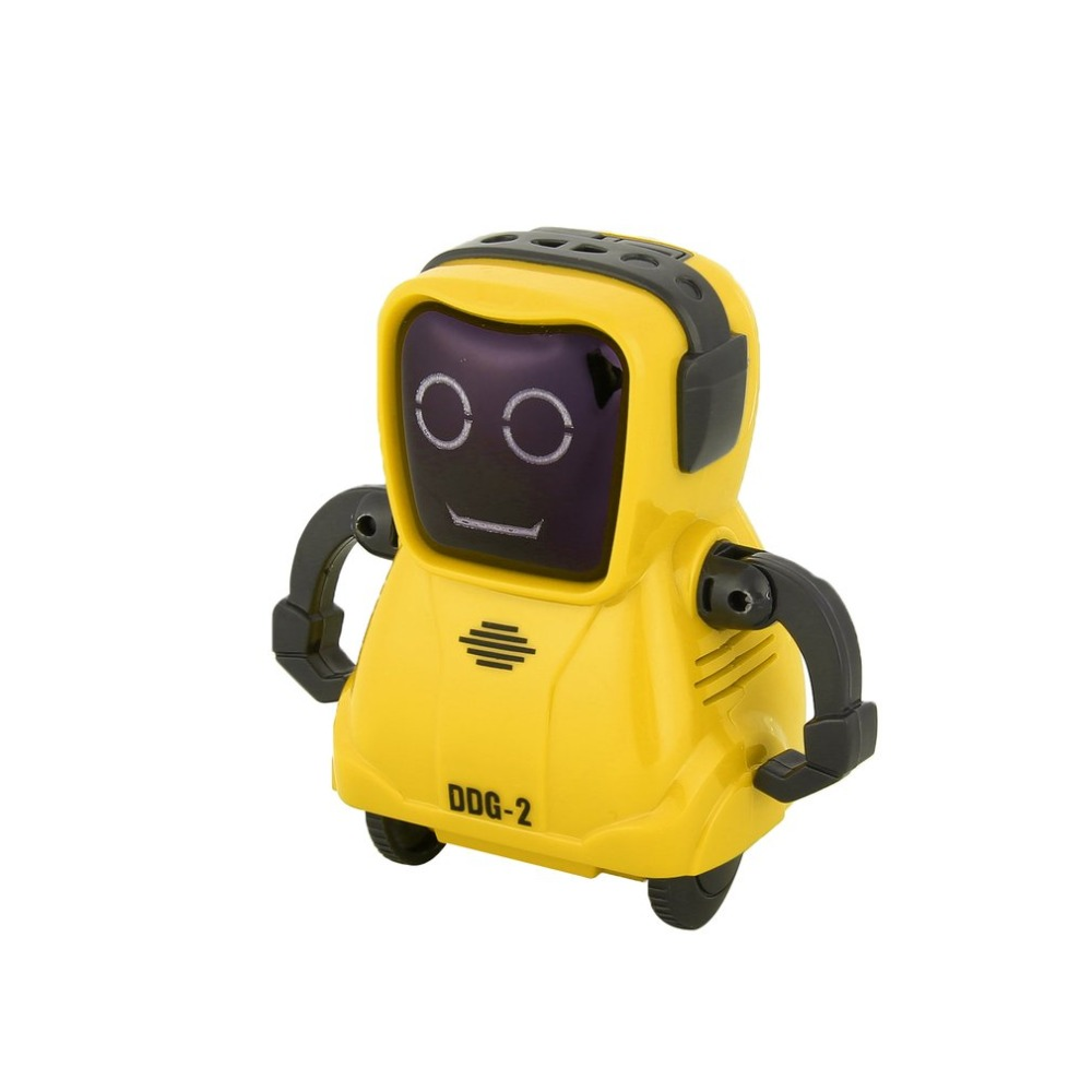 DDG-3 DDG-2  Intelligent Smart Mini Pocket Voice Recording RC Robot Recorder Freely Wheeling 360 Rotation Arm Toys for Kids Gift 14