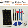 Ulefone Paris screen White 100% Original LCD Display+Touch Screen Assembly Replacement for Ulefone Paris 5.0inch Smartphone