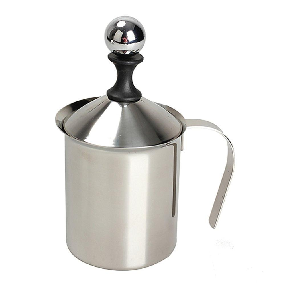 400ml / 800ml Stainless Steel Milk Frother Double Mesh Milk Creamer Milk Foam