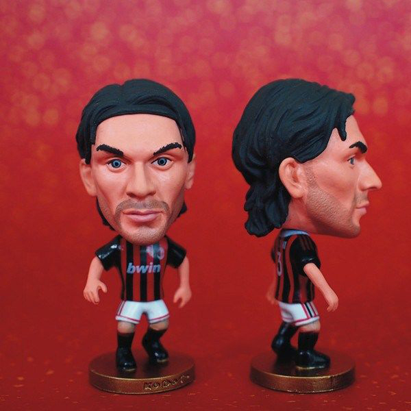 Soccer Player Star 3# MALDINI (AC-Classic) 2.5 Toy Doll Figure muñeco buffon