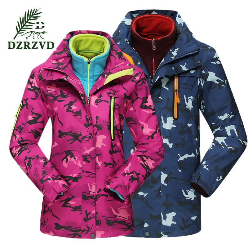2016 Winter Outdoor Men Women Ski warm Softshell Windbreaker Jacket Waterproof coat Cardigan Camping Sportswear кардиган by swan by swan by004ewxbd58