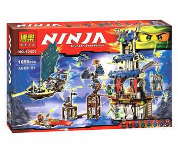 1069pcs Ninja City of Stiix Building Blocks Bricks DIY Model  Ninjagoes Educational Toys for Children - DISCOUNT ITEM  50% OFF All Category