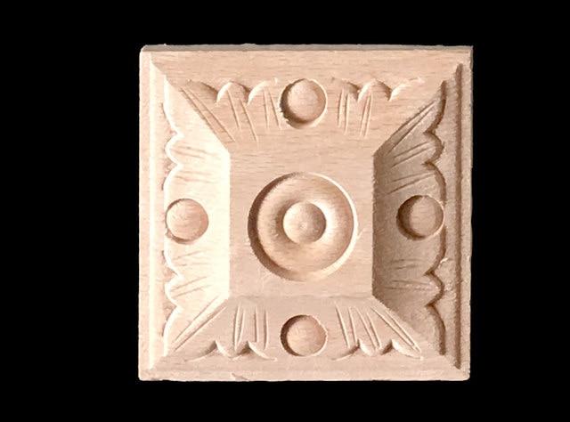 Tienda Online Apliques de madera 5 piezas talla de madera marco para ...