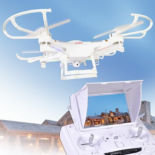 wifi fpv rc drone X118 2.4GHz 6 Axis Gyro 5.8GHz FPV RC Quadcopter with HD Camera drone headless mode remote control toy gifts rc quadcopter drone with camera hd 0 3mp 2mp wifi fpv camera drone remote control helicopter ufo aerial aircraft s6