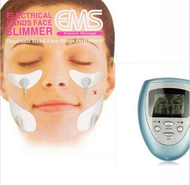 Electric facial muscle toner