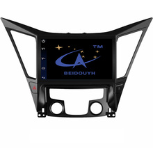 BEIDOUYH 9 inch Android Car GPS navigation for Hyundai Sonata 8th 2010-2014 mirror link/RDS radio/can-bus/OBD2/wifi/DVR/SWC