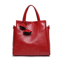 2016 New Leather Women Bags Crocodile Pattern Handbags Fashion Trend Explosion Models Big Bag Lady Shoulder