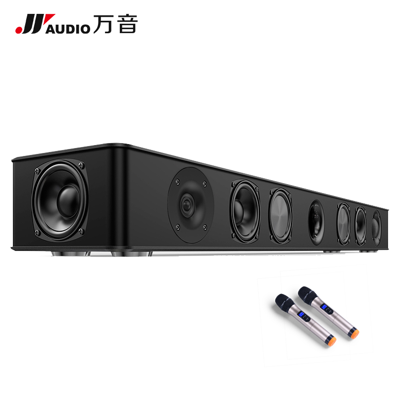 JY AUDIO Bluetooth Amplifiers DSP Surround Wooden Wireless Home Cinema 3D Stereo Sound Speakers Music Center For TV Coaxial AUX