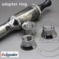 10 pcs acessórios peças de cigarro eletrônico vivi nova anel adaptador para bateria ego para 510 ego dct vivi nova ospire atoizmer