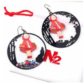 Women fashion jewelry France Les N2 fairy tale series grandma Wolf little red riding hood earringChristmas gift earrings