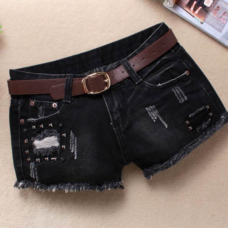 Popular Destroyed Jean Shorts for Women-Buy Cheap Destroyed Jean ...