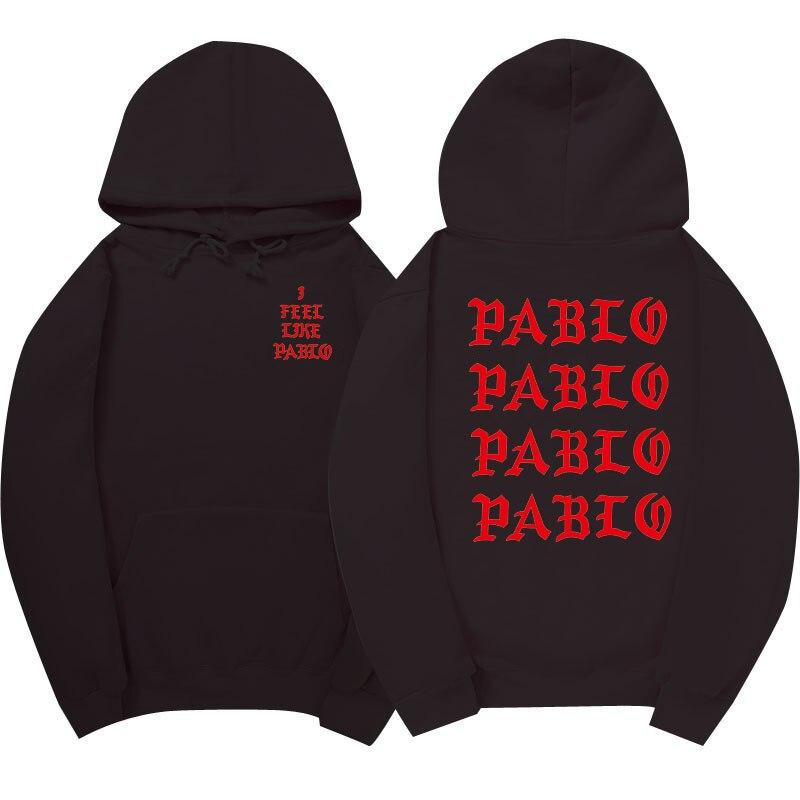 I Feel Like Paul Pablo Kanye West The Life Of Pablo Kanye Season 3 Hoodies Hip