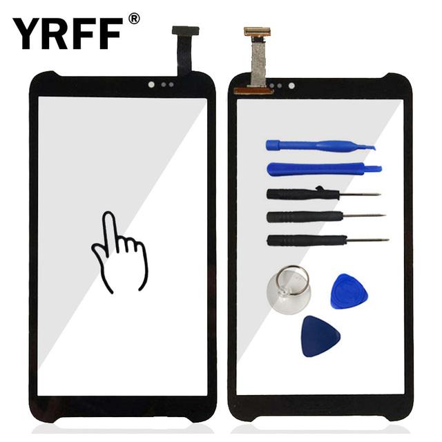 Pantalla táctil de cristal digitalizador panel de pantalla táctil capacitiva para asus fonepad note 6 fhd6 me560cg me560 k00g lente adhesiva sensor