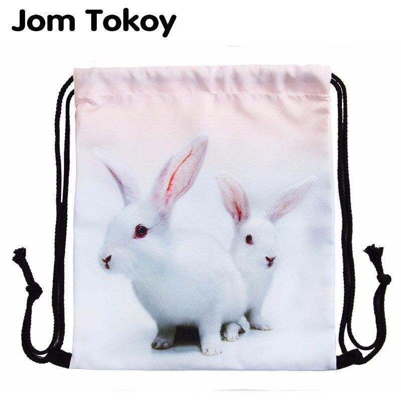 Top Quality 2016women backpack printing bag for picnic mochila feminina harajuku drawstring bag mens backpacks sunglasses cat