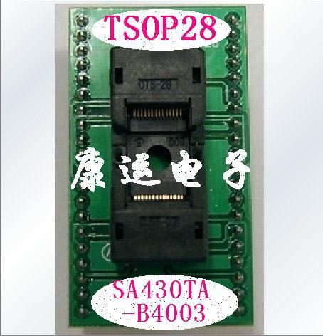 Free Shipping    600P/500P/610P Programmer TSOP28 Adapter SA430T-B4003 Transposon