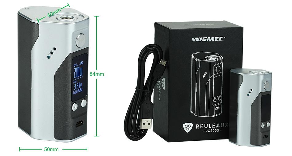 WISMEC Reuleaux RX200S TC Express Kit2