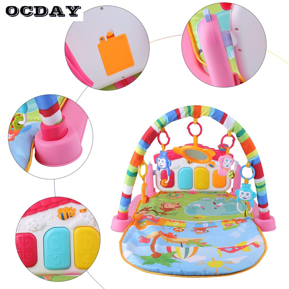 OCDAY-3-in-1-Baby-Play-Rug-Develop-Crawling-Childrens-Music-Mat-with-Keyboard-Infant-Fitness-Carpet-Educational-Rack-Toys-pad-4